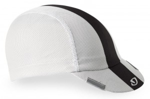 Czapka GIRO PELOTON CAP white black grey (NEW)